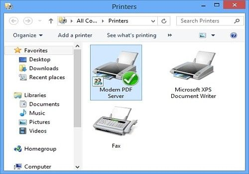 Modern PDF Server