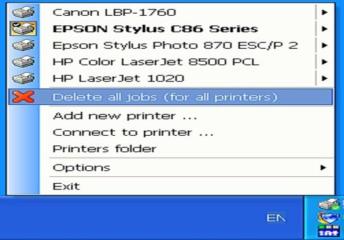 Fast Printer Chooser