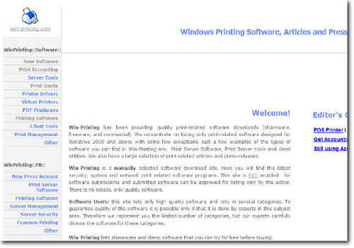 Windows Printing Software