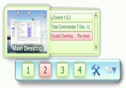 Crystal Desktop