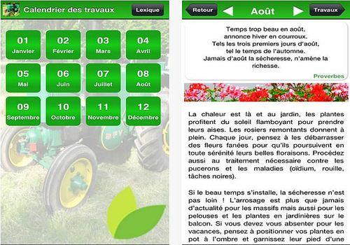 T L Charger Calendrier Des Travaux Du Jardin Ios App Store
