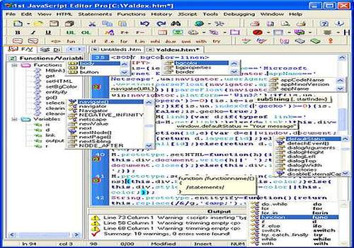 1st JavaScript Editor Pro 3.6