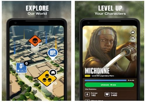 The Walking Dead Our World Android