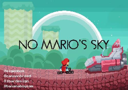 DMCA's sky (ex - No Mario's Sky) pour Linux