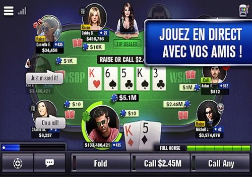 Télécharger World Series of Poker Android apk | Google Play