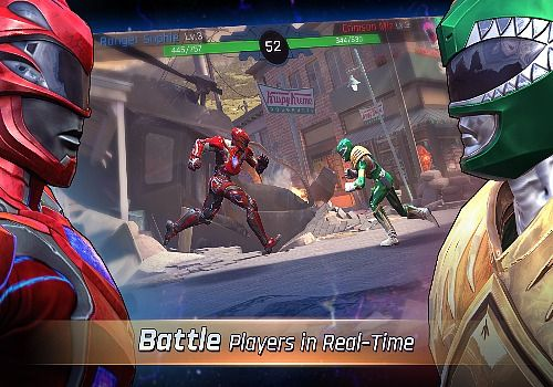 Power Rangers Legacy Wars iOS