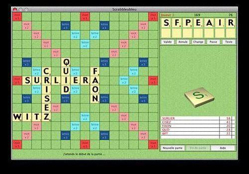 Scrabbleubleu pour Mac