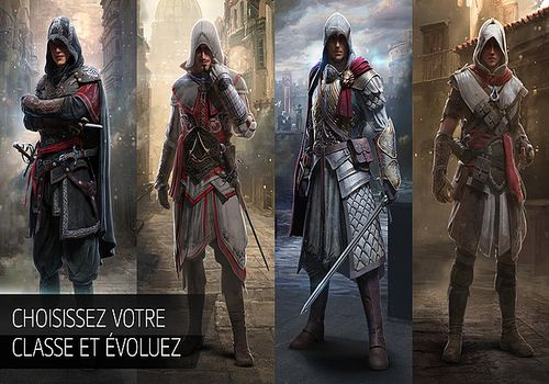 Assassin's Creed identity iOS