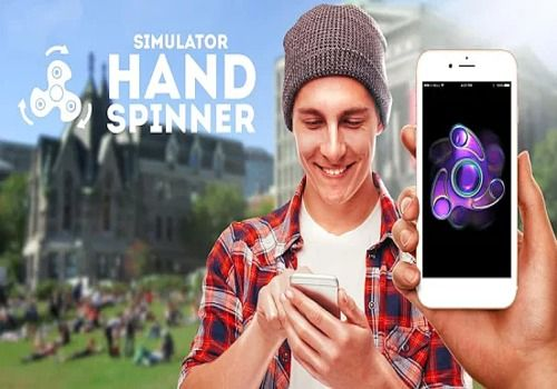Simulator Hand Spinner Android