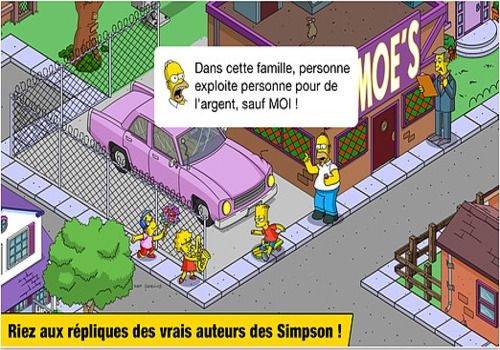 Les Simpsons Springfield Android