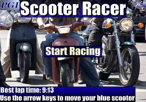 Scooter Racer
