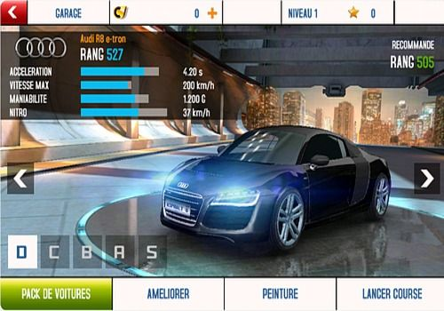 t l charger asphalt 8 android recommand google play. Black Bedroom Furniture Sets. Home Design Ideas