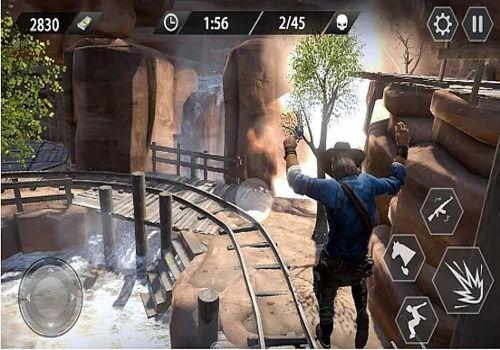Cowboy Gun War Android