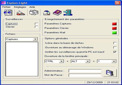 Pass Keylogger est le seul logiciel conçu pour garder une trace de toutes les frappes.