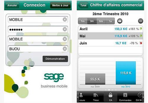 Sage Business Mobile iOS