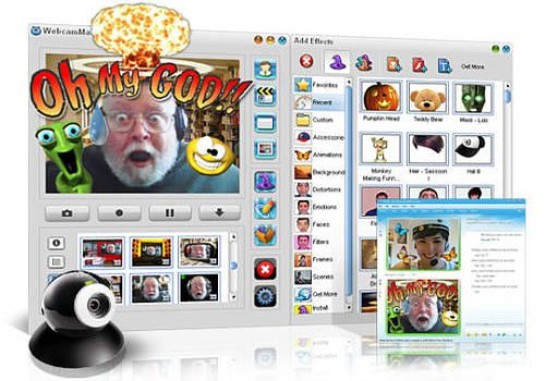 Télécharger WebcamMax 7 pour windows | Shareware