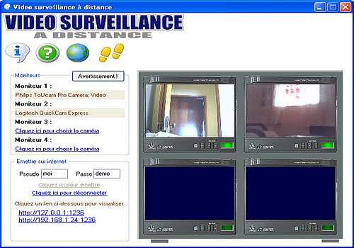 t l charger video surveillance a distance pour windows