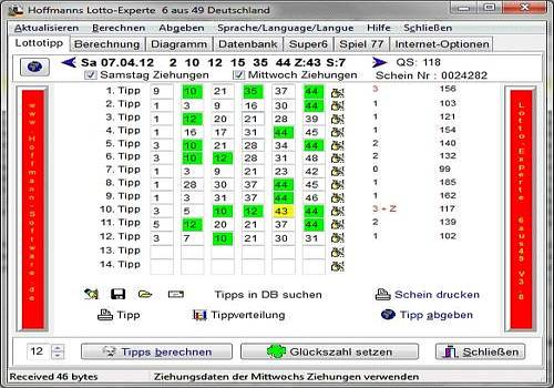 Lotto-Experte Allemagne 6 sur 49