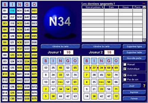T l charger b12 pour windows shareware - Grille de bingo a imprimer gratuit ...