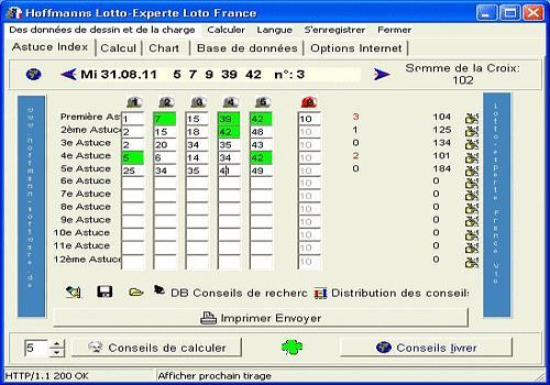 T l charger lotto experte loto france pour windows shareware - Comment gagner au keno a coup sur ...