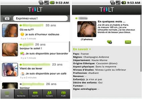 T l charger tiilt android google play for Tiilt site de rencontre