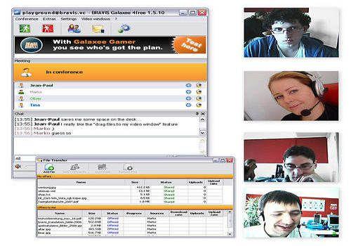 Télécharger BRAVIS Galaxee 4free Videochat pour Windows ...
