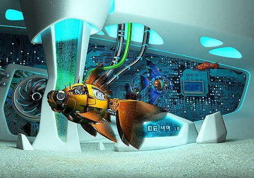 Cyberfish 3D Screensaver