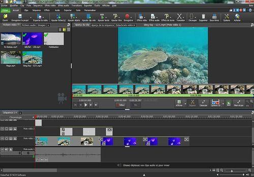 VideoPad - Éditeur vidéo gratuit