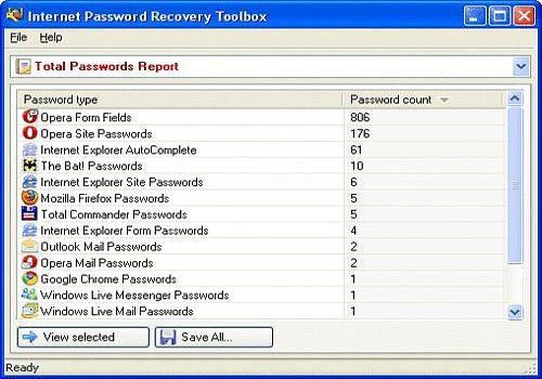 Internet Password Recovery Toolbox