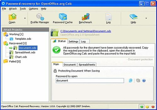 T l charger openoffice calc password recovery pour windows - Telecharger open office ancienne version ...