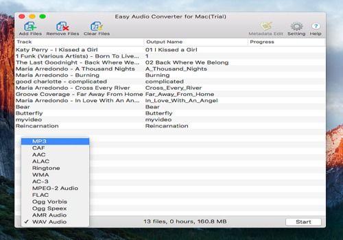Easy Audio Converter for Mac v4.0.9