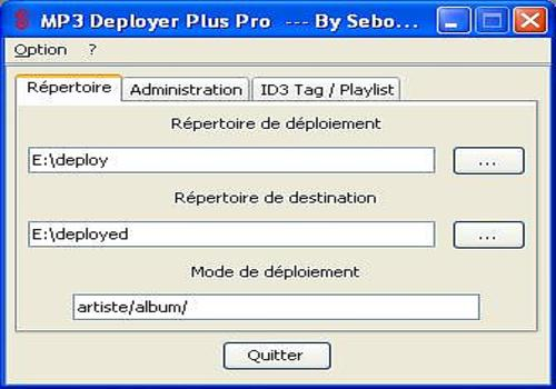 MP3 Deployer Plus Pro pour Linux