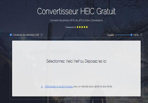 Apowersoft Convertisseur HEIC Gratuit