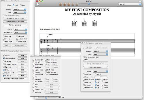 Tablatures para Mac