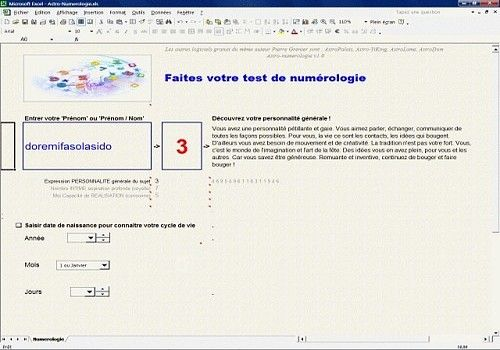 numerologie software