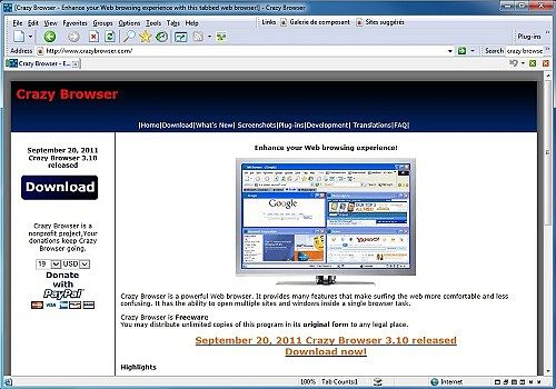 navigateur crazy browser