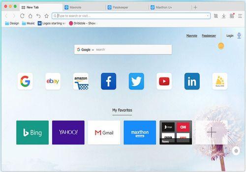 Maxthon Cloud Browser pour Mac
