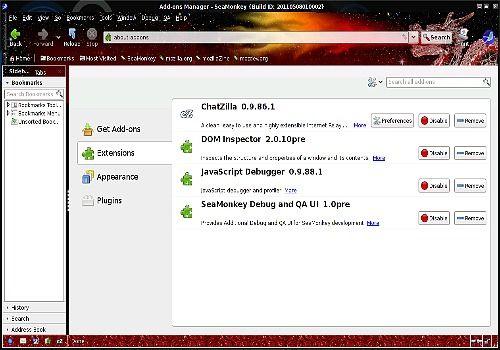 SeaMonkey pour Linux