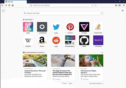 Mozilla Firefox Mac