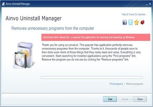 Ainvo Uninstall Manager