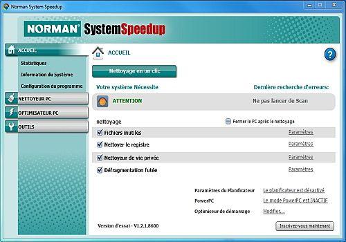 Normal System Speedup