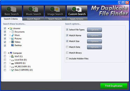 My Duplicate File Finder