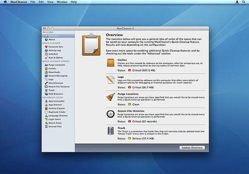 MacCleanse pour Mac