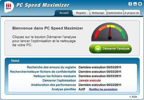 GRATUIT SPEED PC CL LICENCE TÉLÉCHARGER DE MAXIMIZER