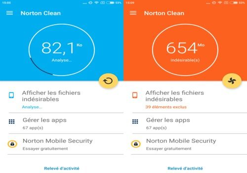 Norton Clean Android