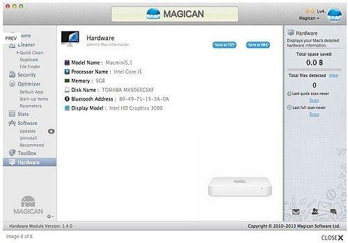 Magican pour Mac