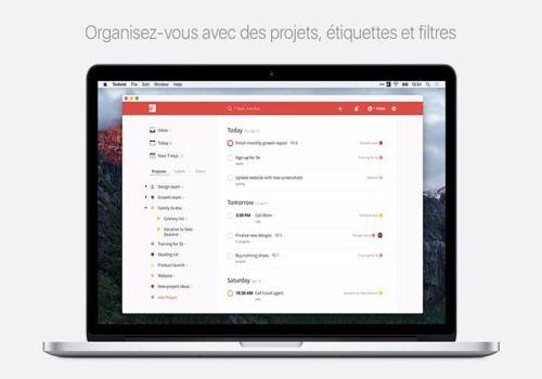 Todoist : Liste de tâches pour Mac