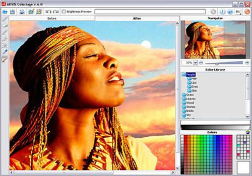 T l charger akvis coloriage 10 5 pour windows shareware for Outil pour dessiner