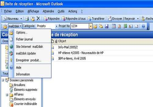 mail2disk