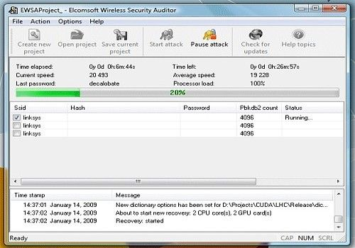 elcomsoft wireless security auditor